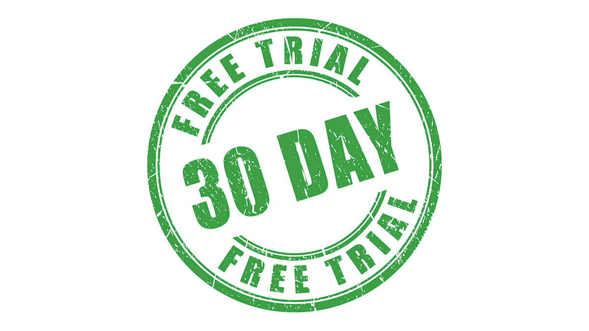 30日間無料トライアルをお試しください